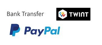 Kartenlegen zahlung Paypal und twint